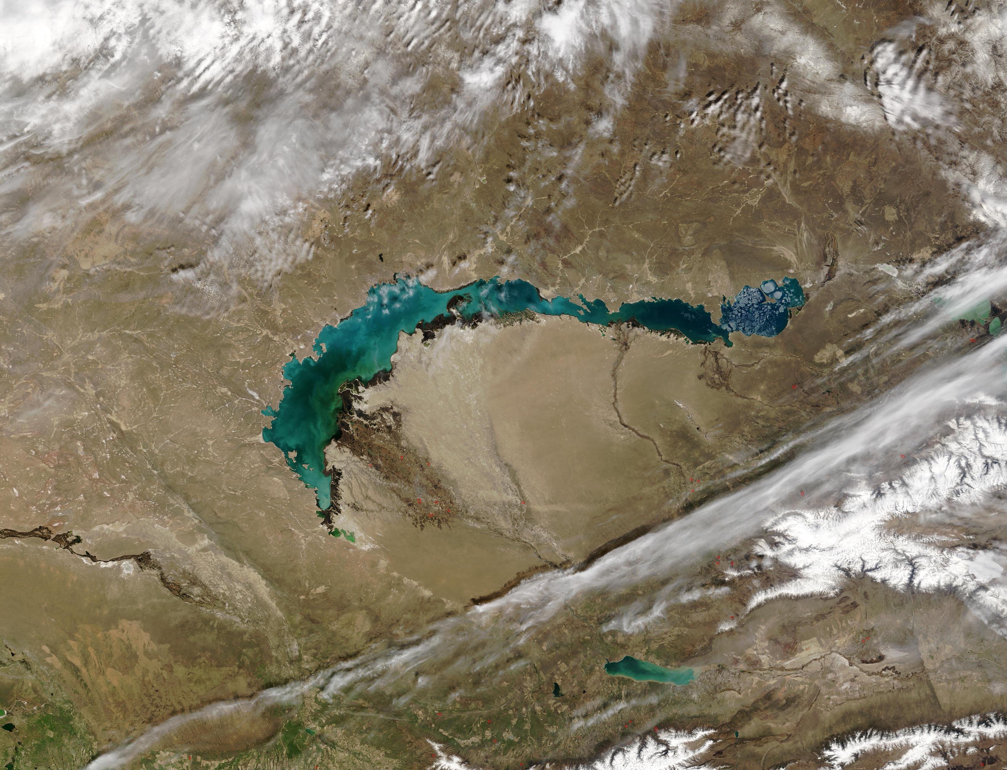 lake balkhash map - photo #30
