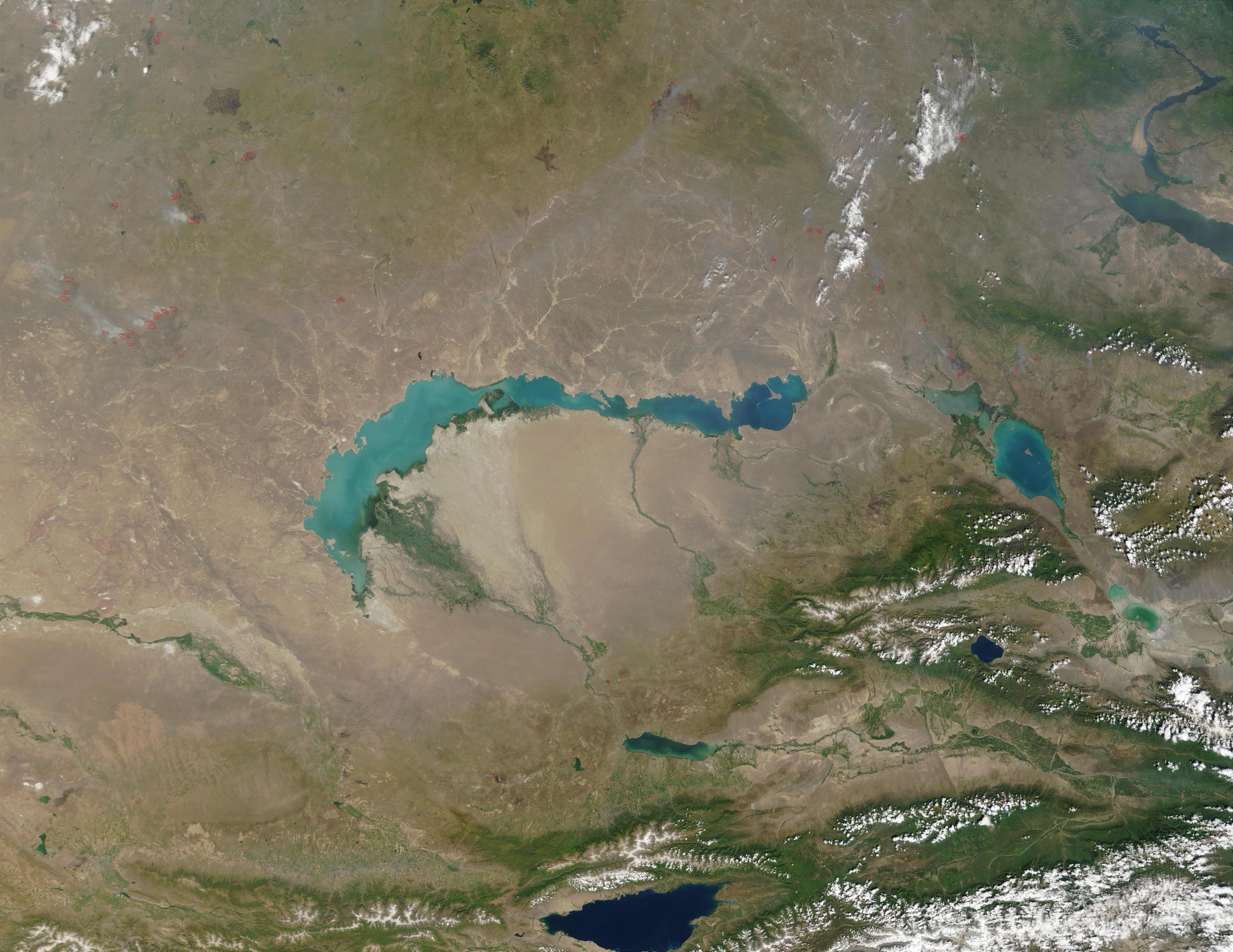 lake balkhash map - photo #26