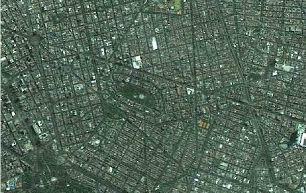 mapa satelital de mexico