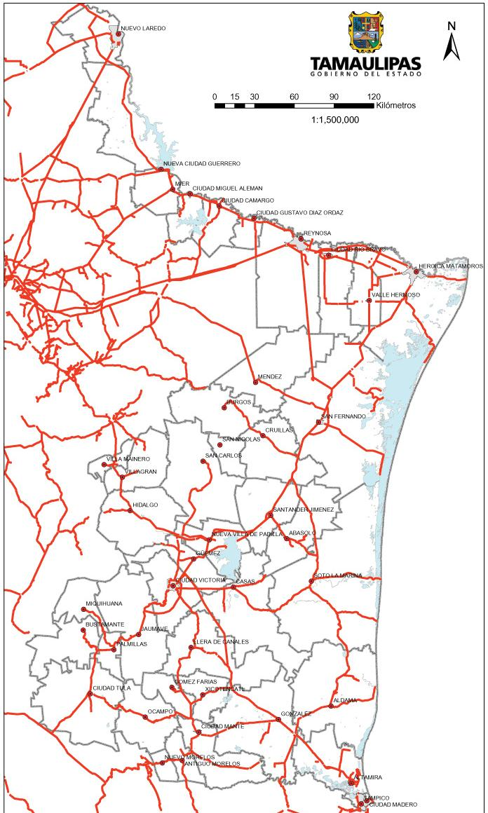 Tamaulipas Mapa