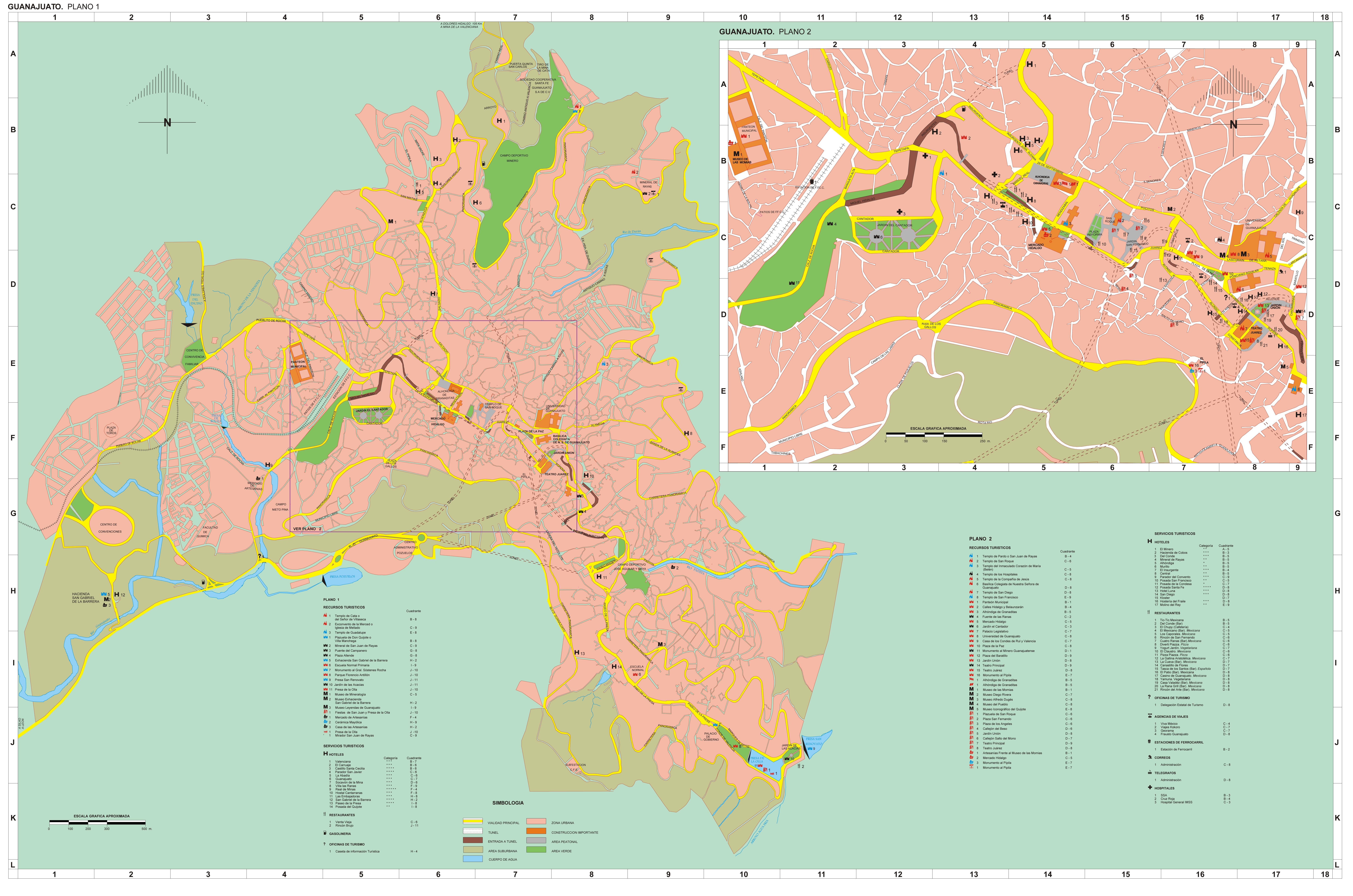 Mapa de la Ciudad de Leon Gto Mapa de la Ciudad de