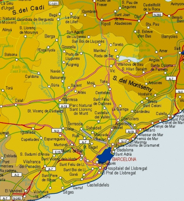 Provincia Barcelona la Provincia de Barcelona
