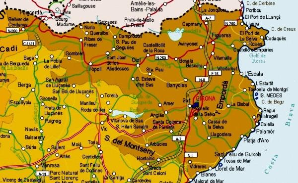 Provincia Barcelona Provincias de Barcelona y