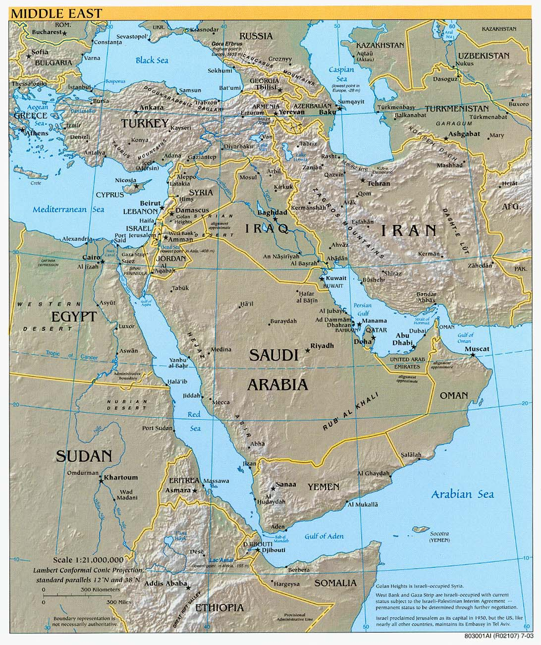 Middle East Geography - Lessons - Tes Teach