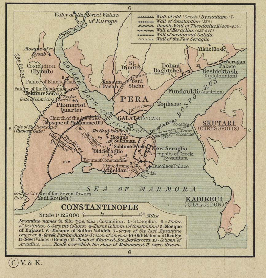 of Constantinople 1453