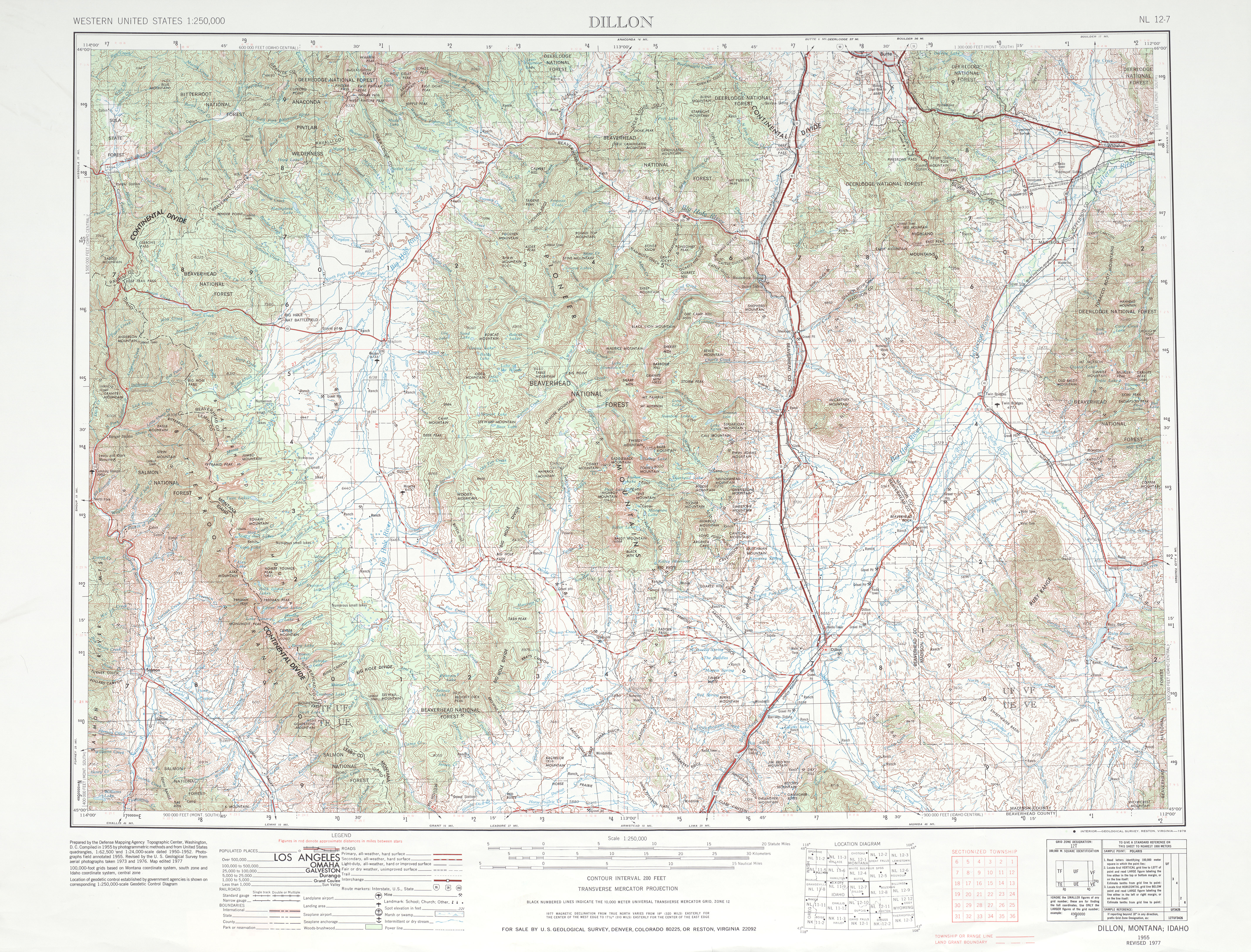Dillon (MT) United States  city photos gallery : Topography Map Of The United States for Pinterest