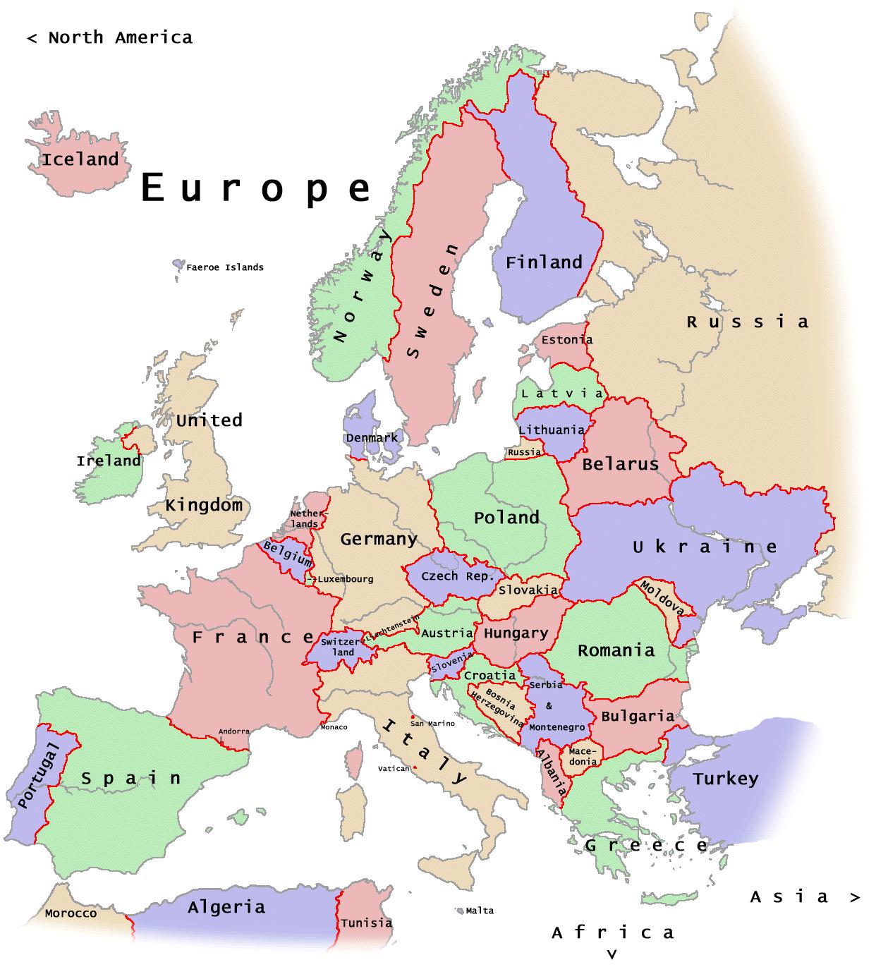 fotos de paises de europa: