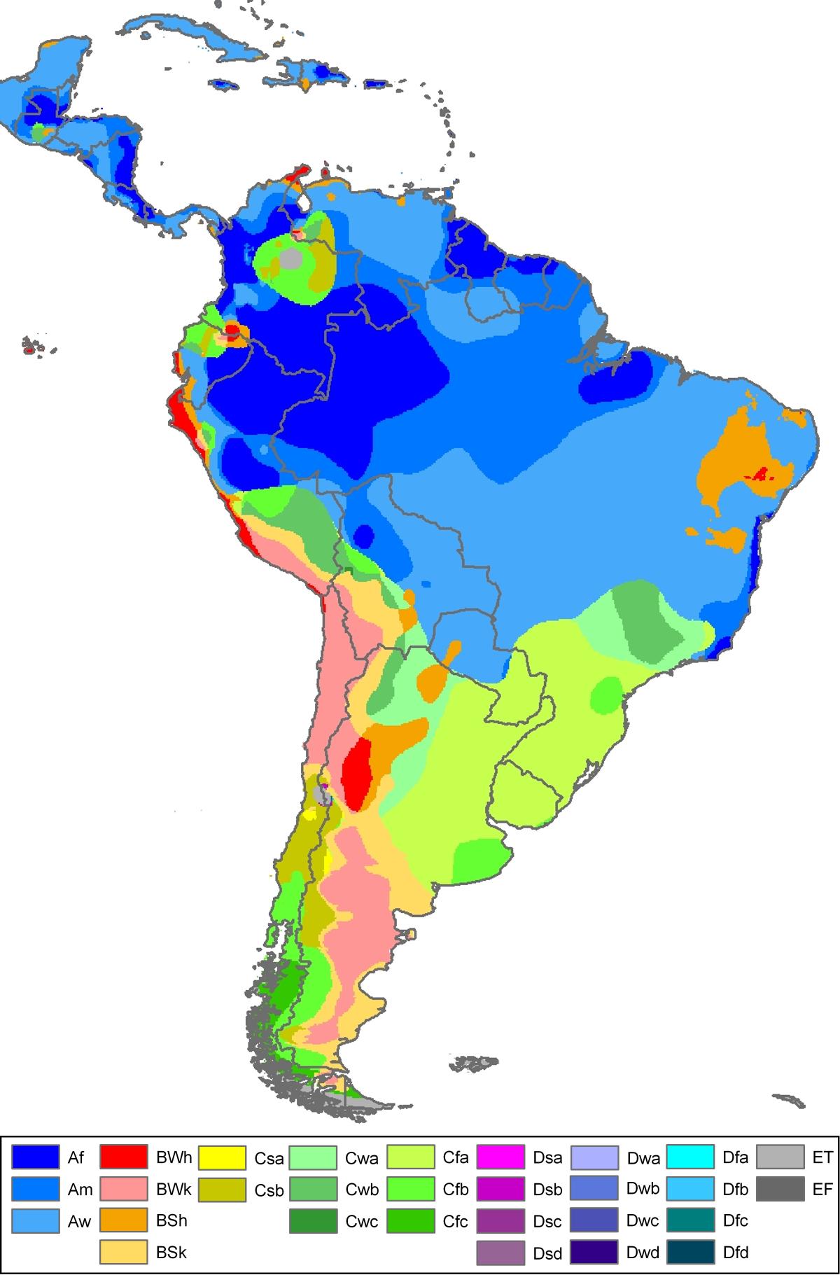 South America Climate