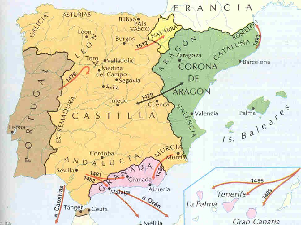 Unidad de España con los Reyes Católicos