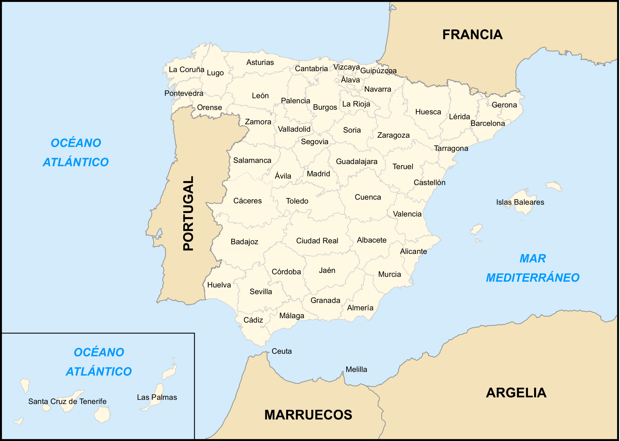 espana informacion: