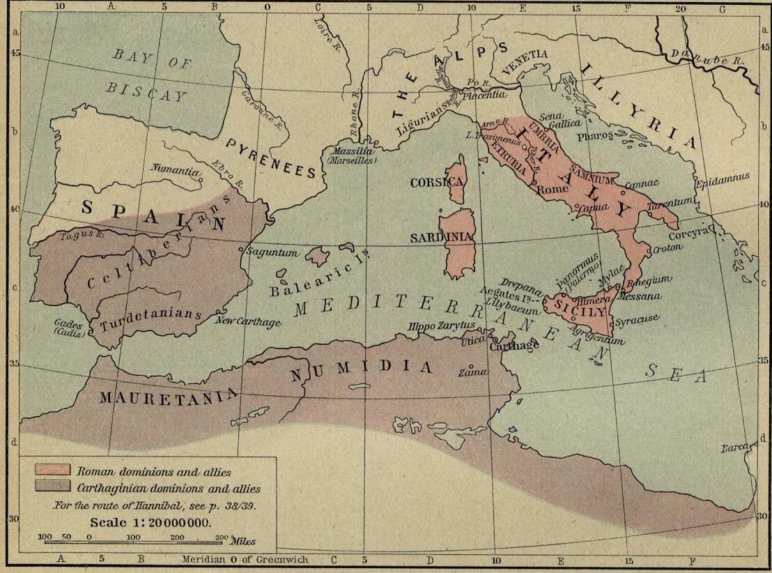 Roma y Cartago antes de las Guerras Púnicas