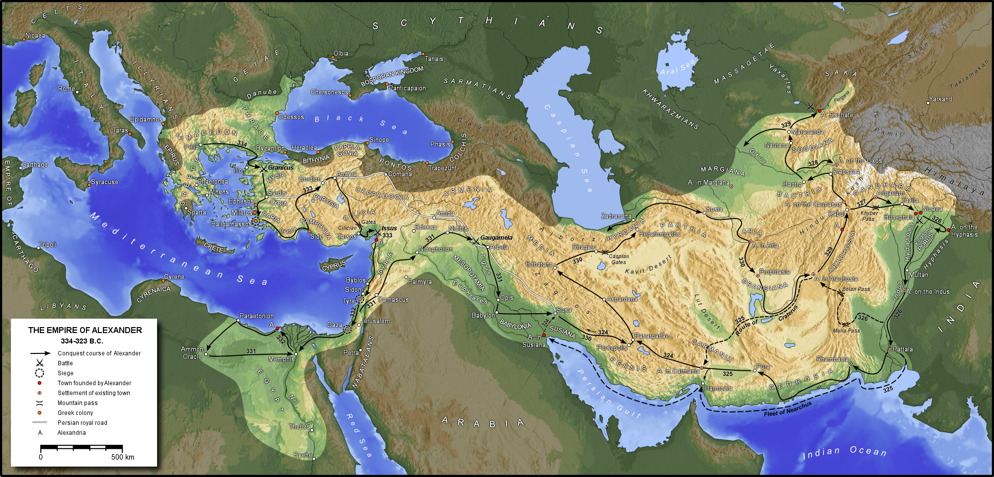 The-Macedonian-empire-of-Alexander-the-G