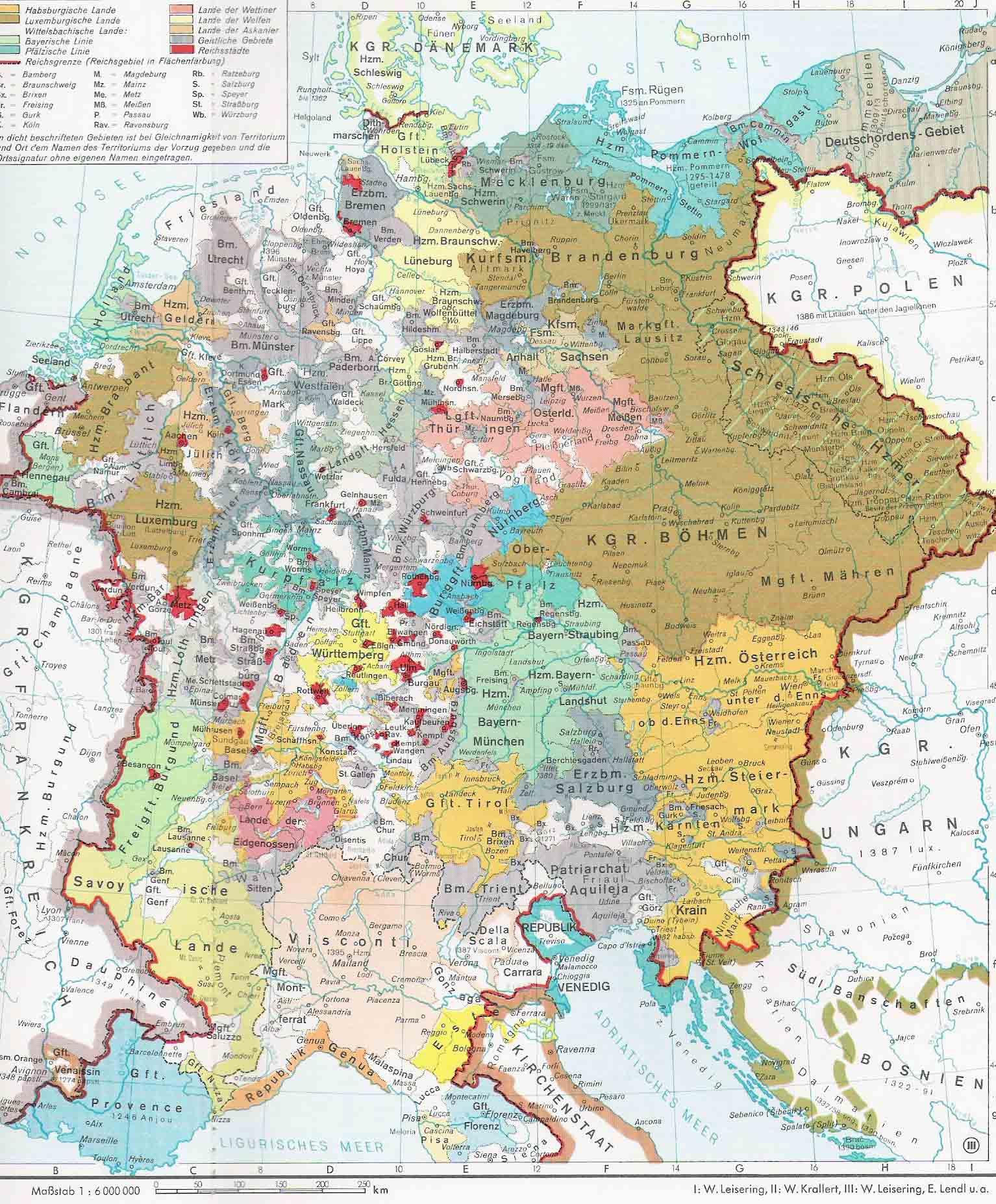 The Holy Roman Empire Under