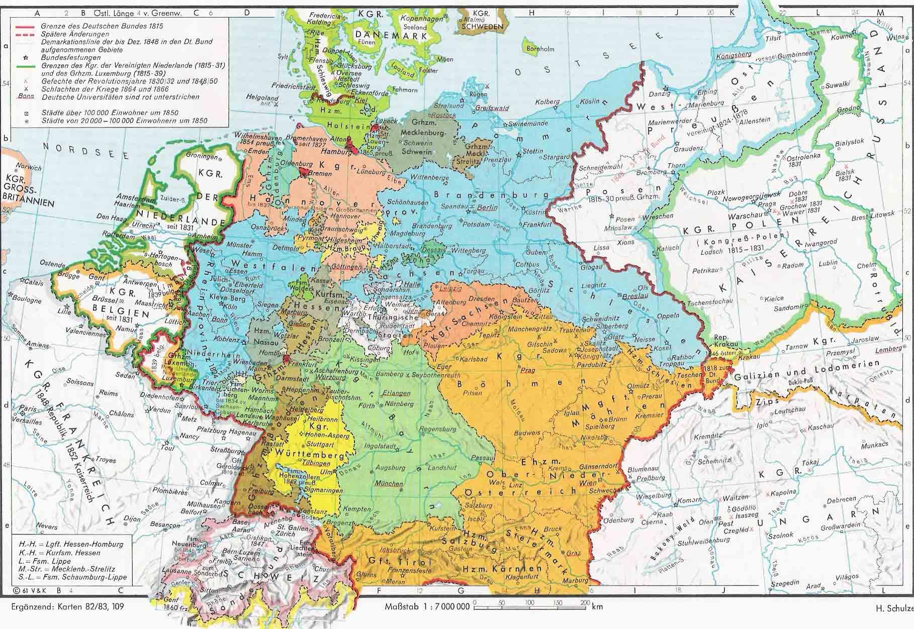 Europe 1815 1866 Full size