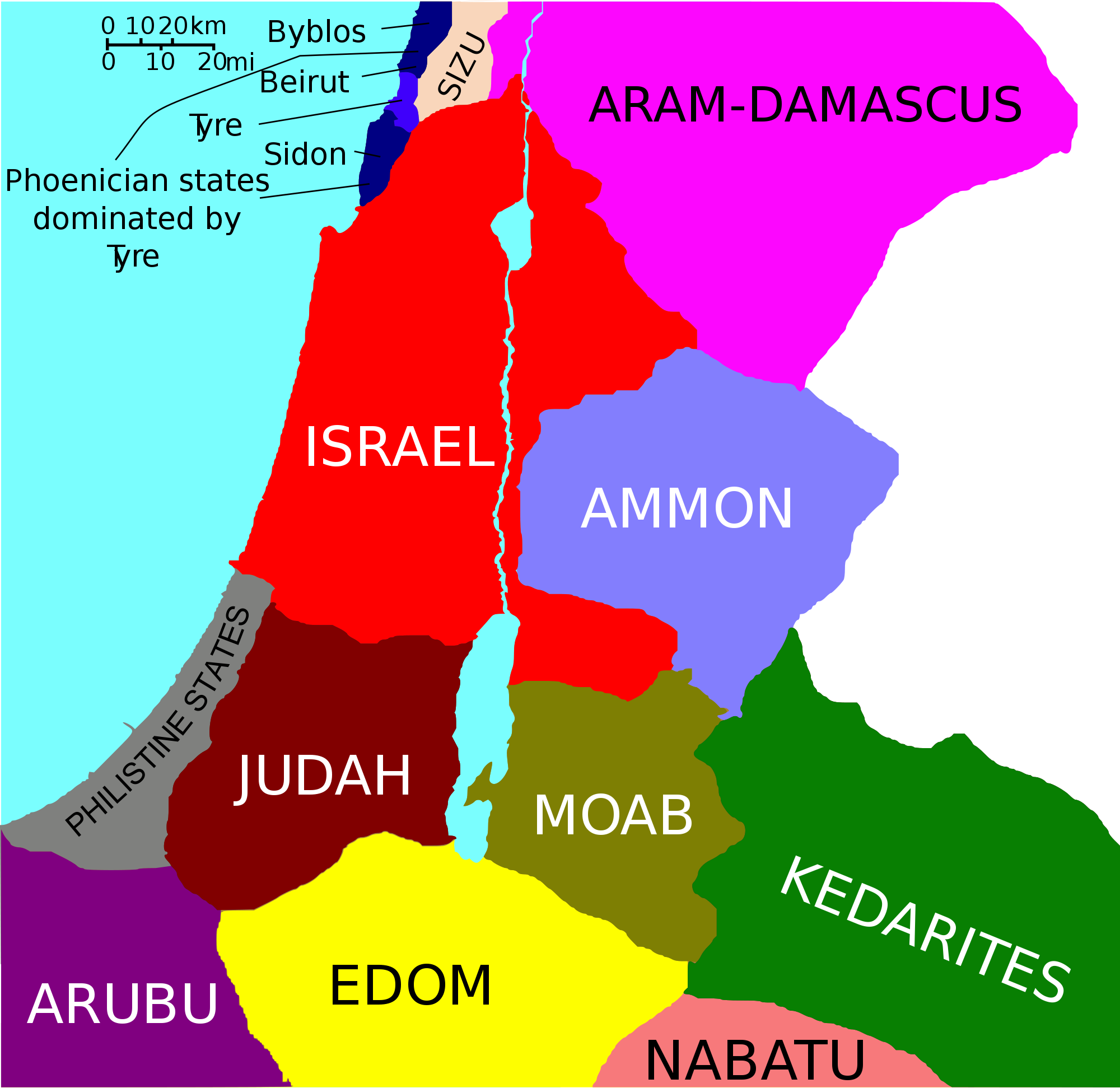 Levant 800 BC