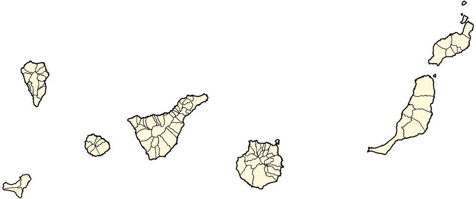 Tamaño Islas Canarias de Las Islas Canarias 2006