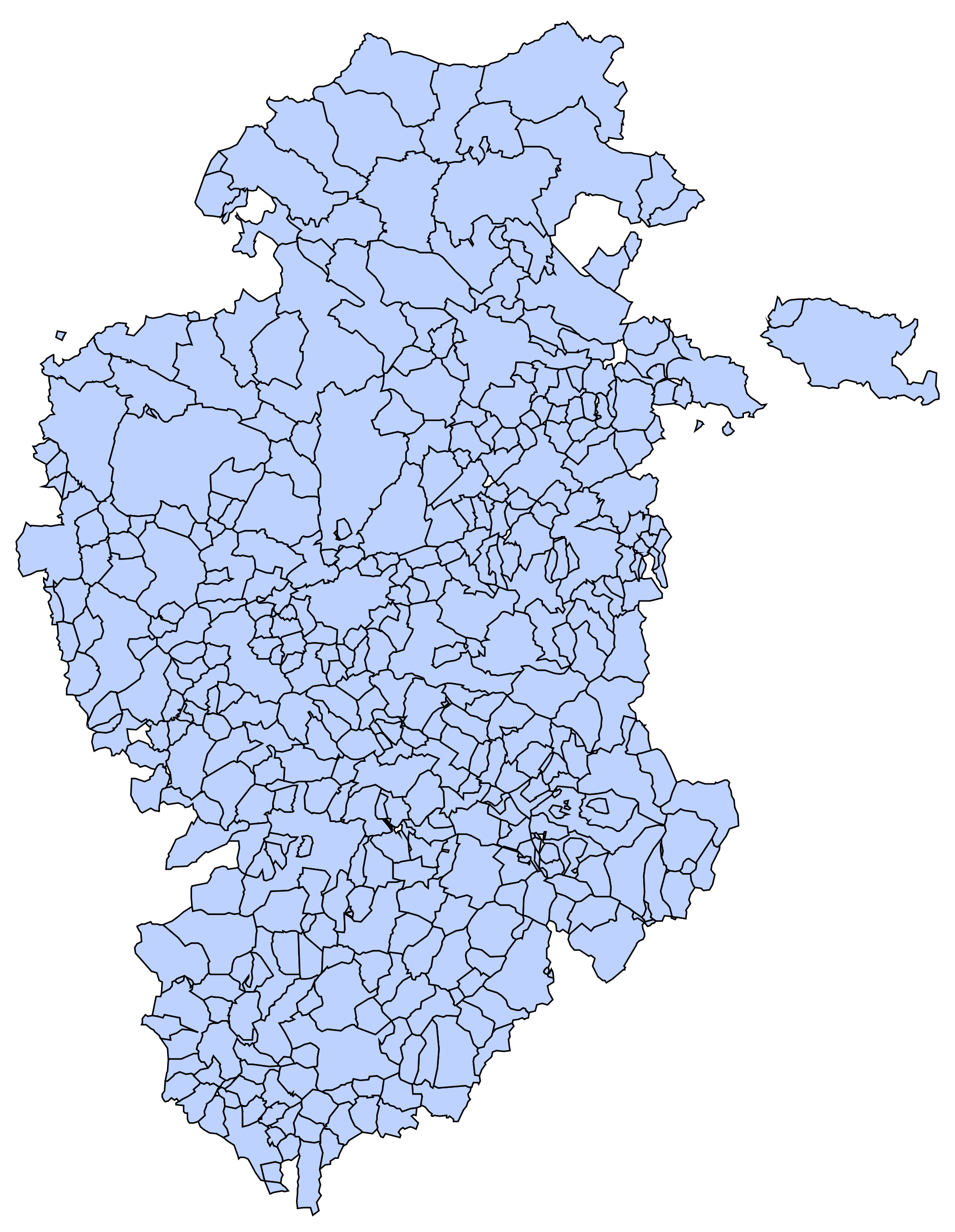 Provincia Valladolid Municipios Municipios de la Provincia de