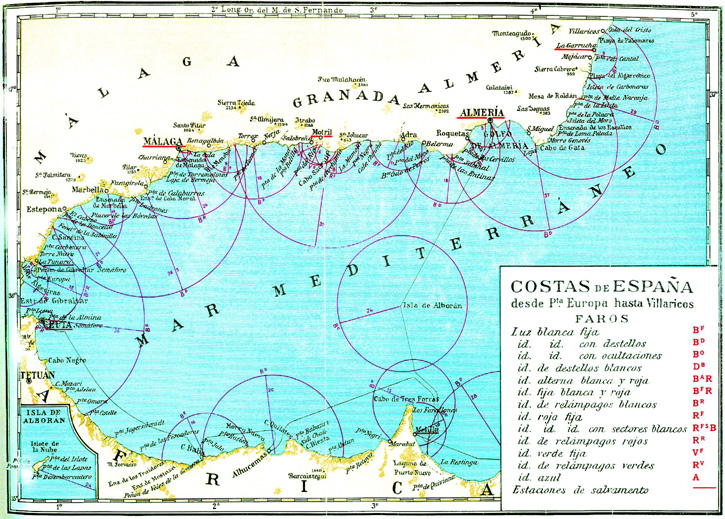 Spain coast from puerta europa to villarico full size - Puerta europa almeria ...