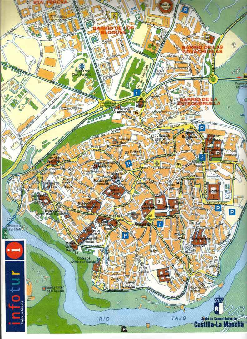 Toledo Map | Dictionary Bank