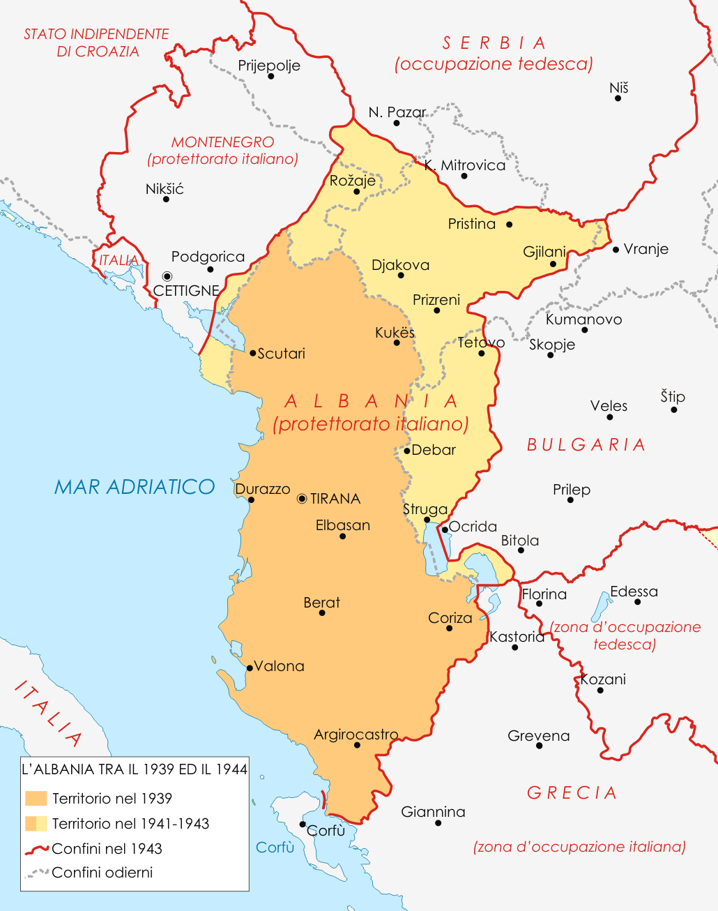 Albania during World War I