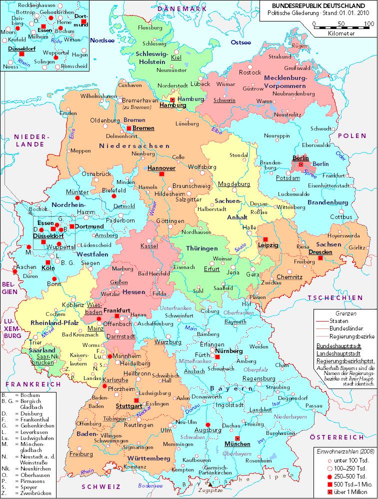 Mapa de Alemania | Metro Map | Bus Routes | Metrobus Way Map ...
