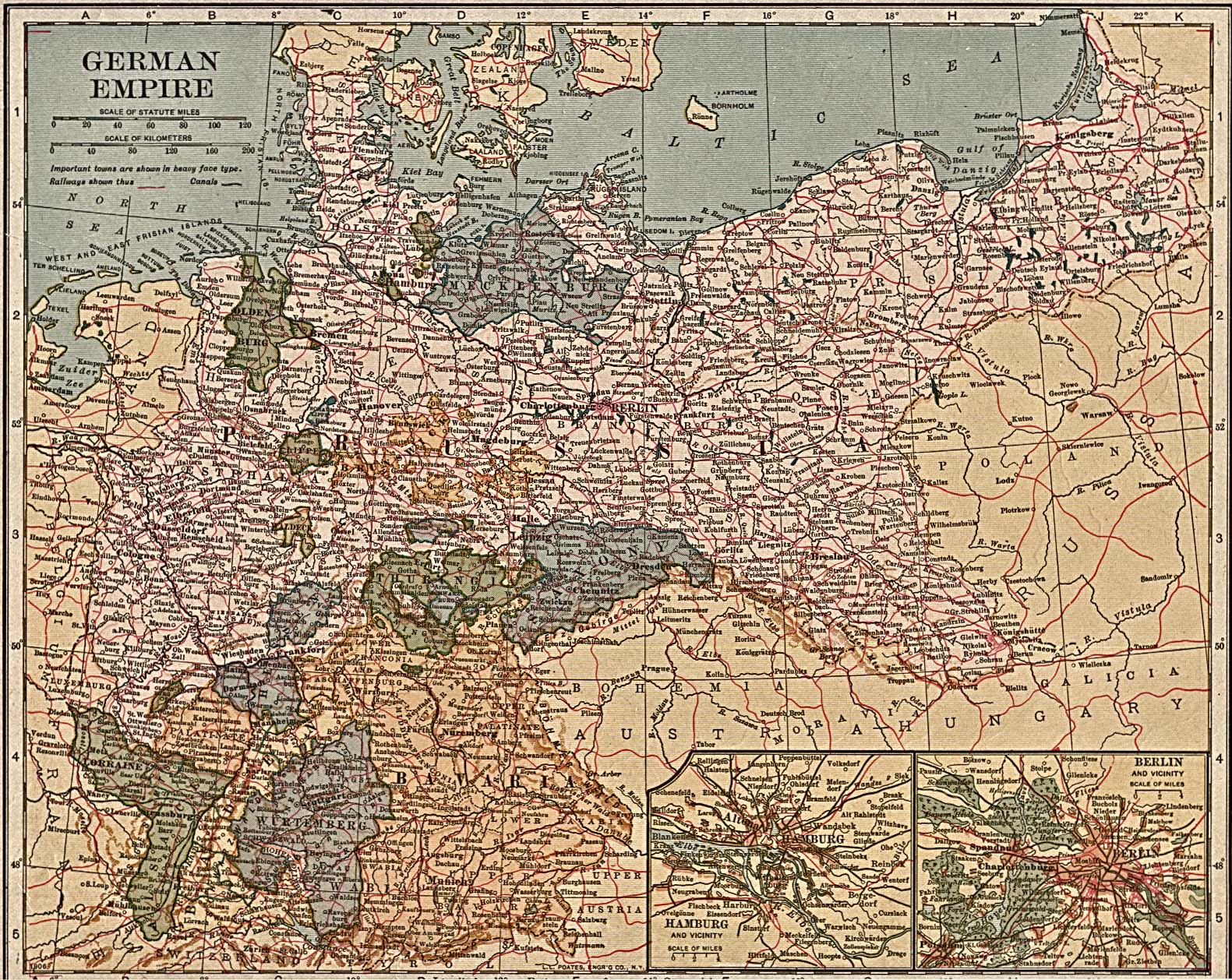 German Empire 1871-1918 - Full size