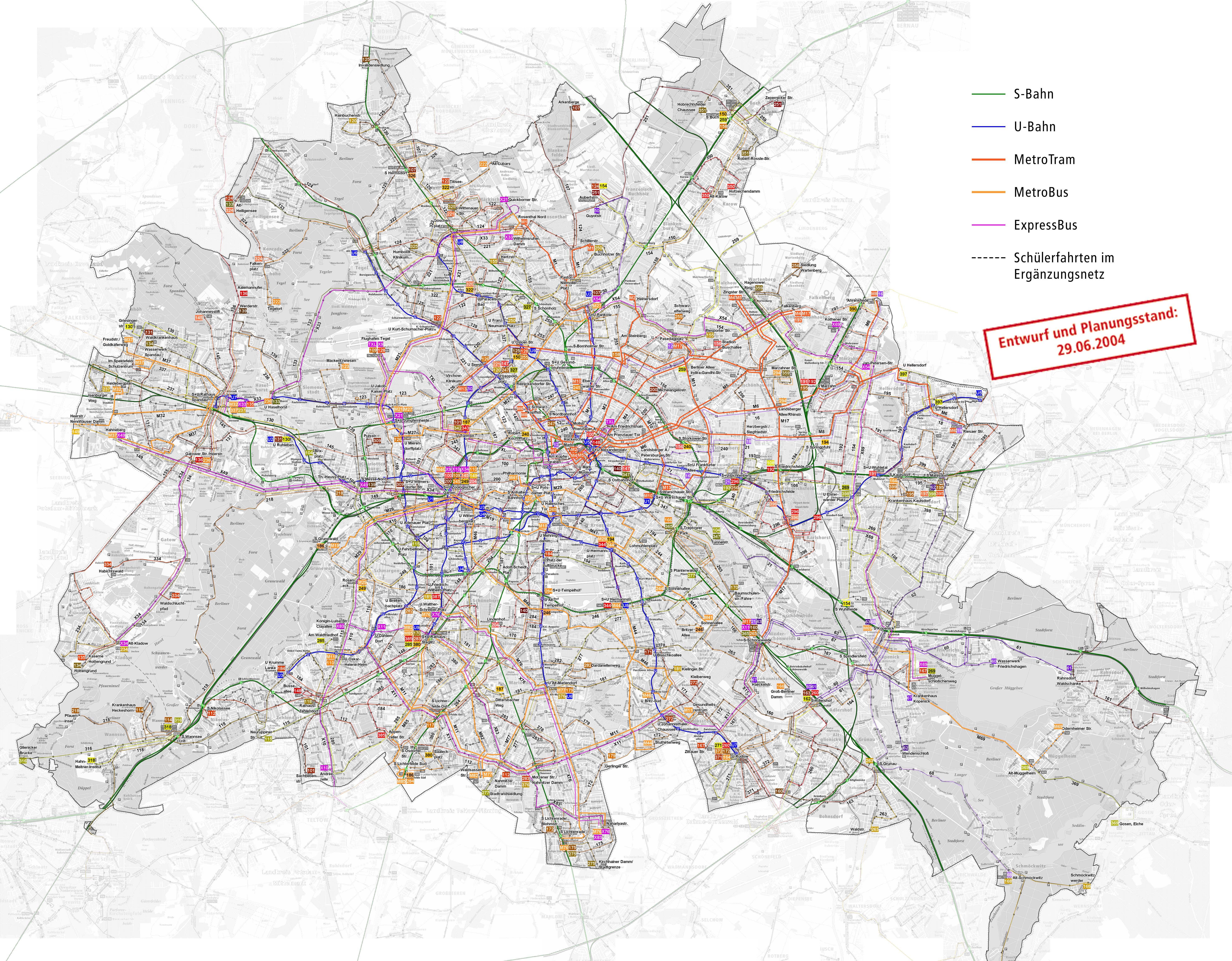 berlin map public transport. Black Bedroom Furniture Sets. Home Design Ideas