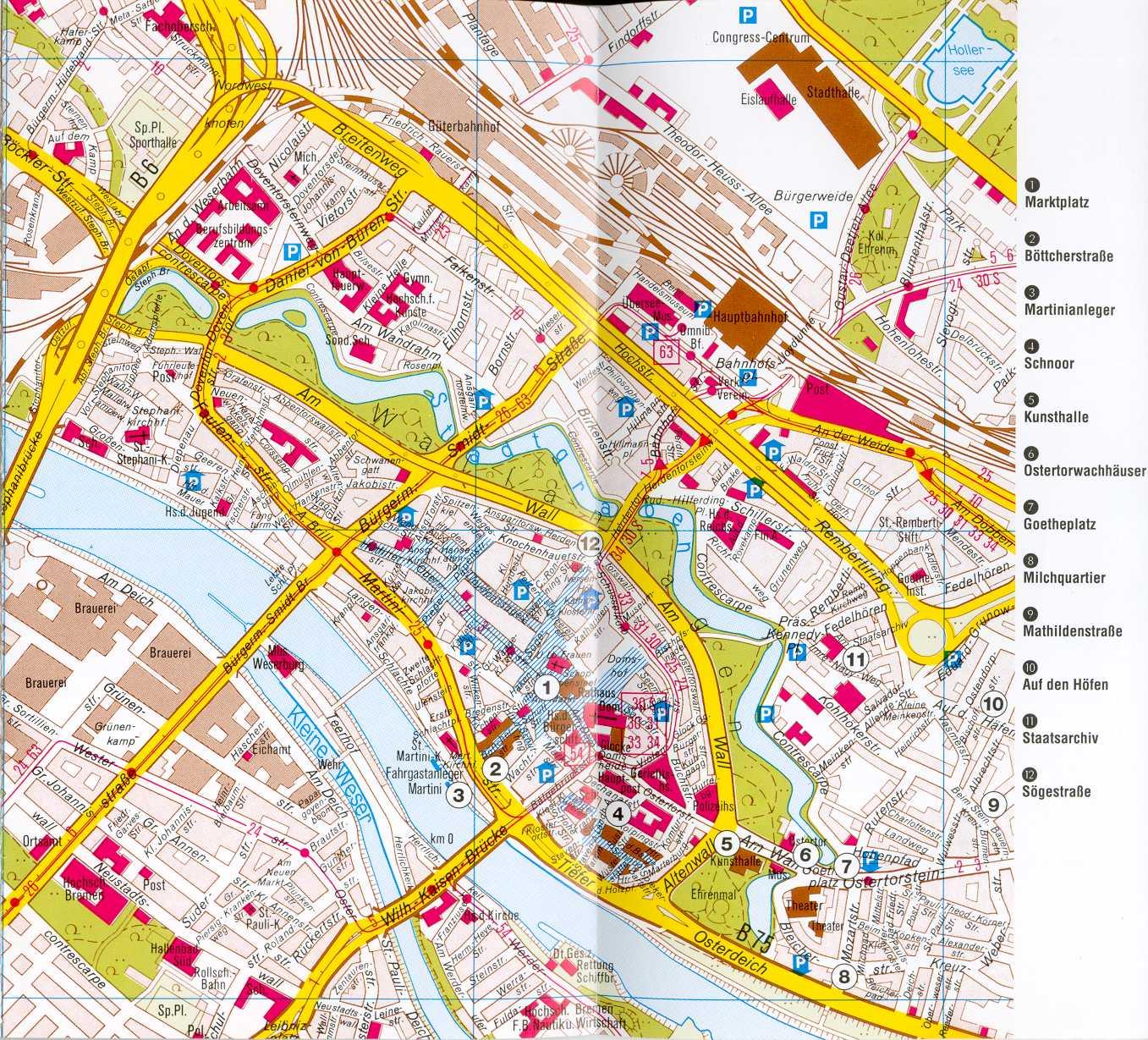 Centro De La Ciudad De Bremen Tama 241 O Completo