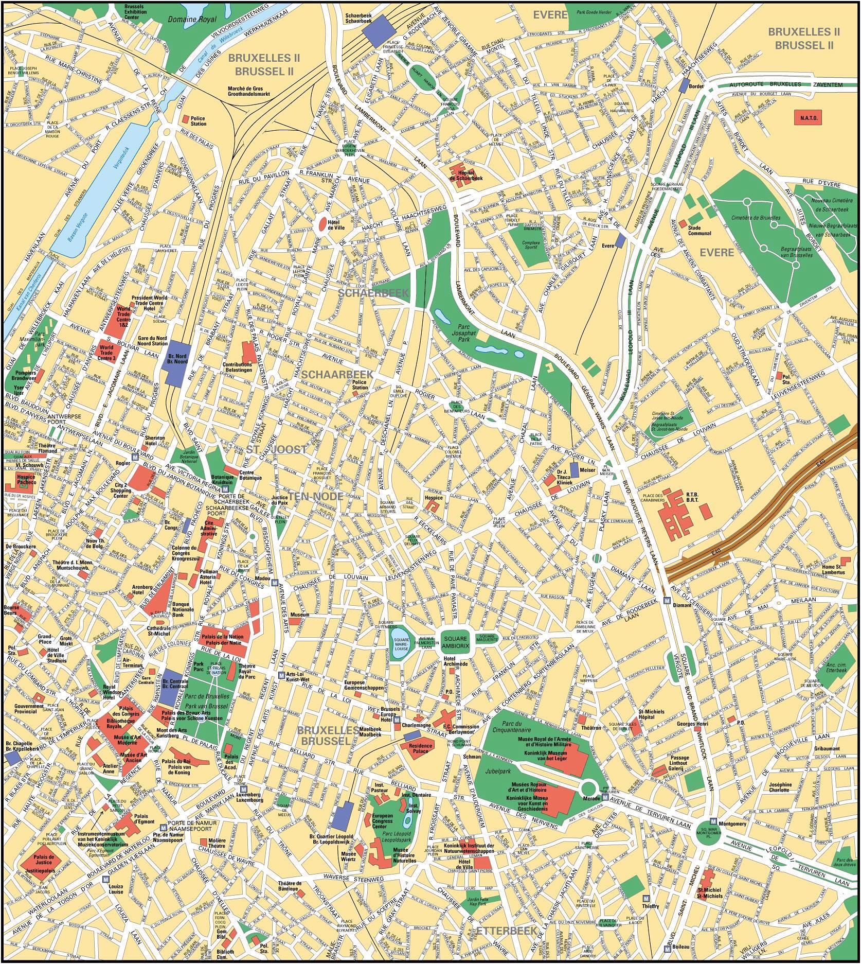 Belgium regions More information – Belgium Regions Map