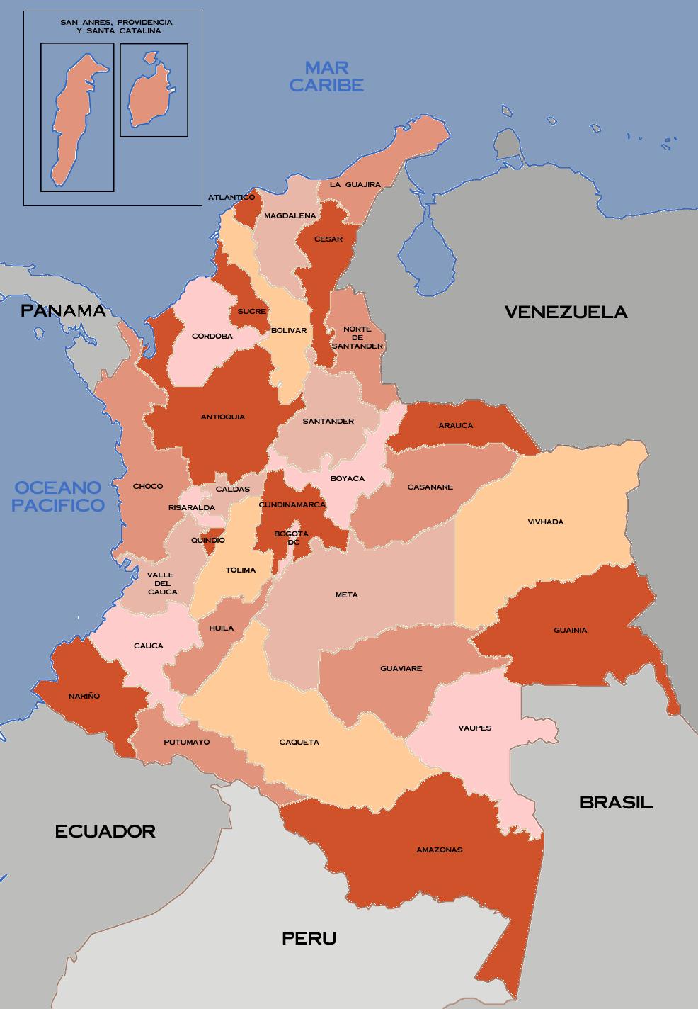 COLOMBIA!!! - Página 2 Departamentos-de-Colombia-2008