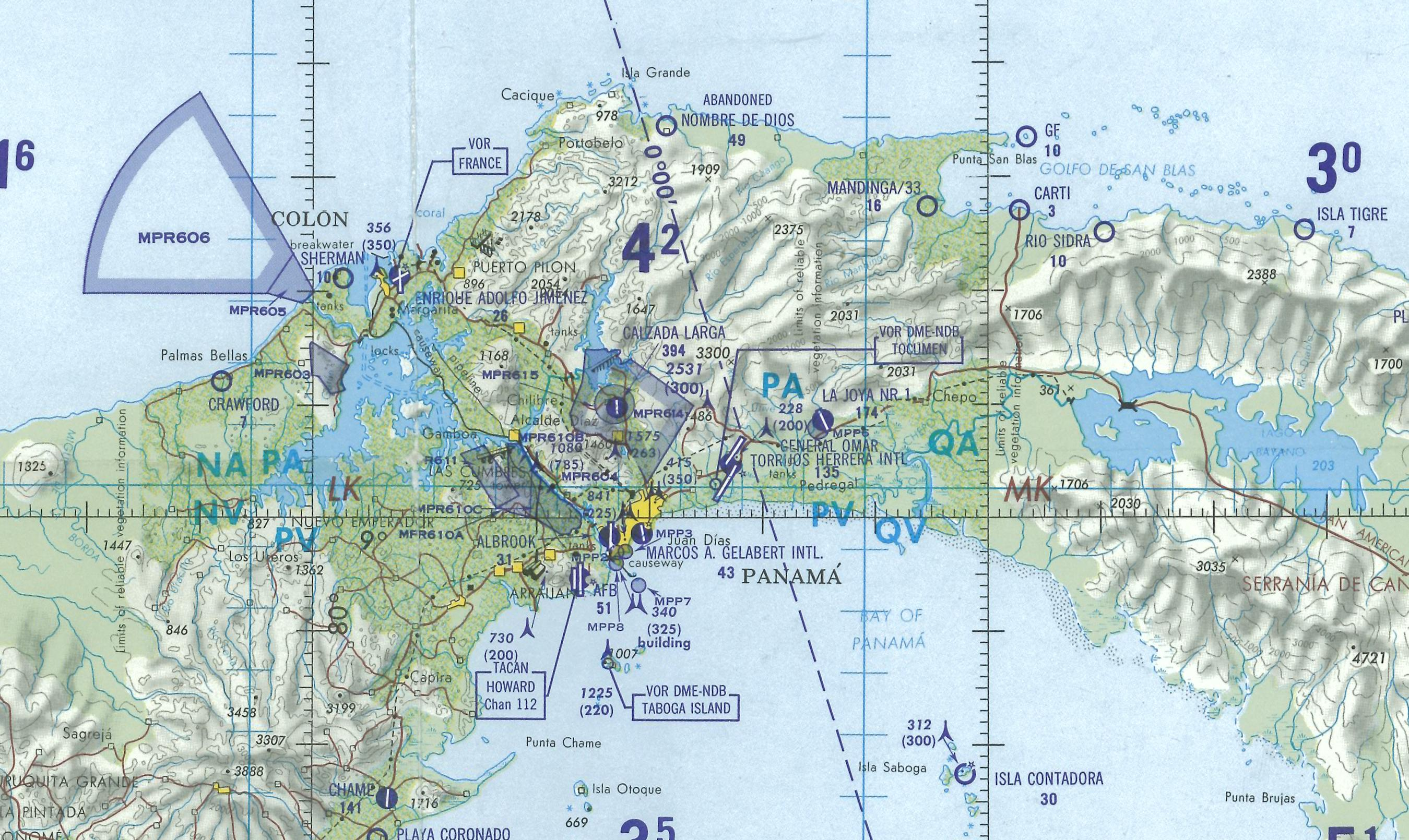 physical map of mexico central america and the caribbean with Aeronautical Chart Of The Panama Canal Area on The Largest Countries In The World The Biggest Nations As Determined By Total Land Area further Centro America Map as well Wyoming also Latvia as well Ch05 The Caribbean For Cd.