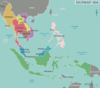 Southeastern Asia Political Map 2003