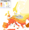 Spread of Bubonic Plague in Europe 14th century