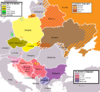 Slavic Languages in Europe 2000