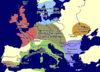 Neolithic map in Europe in the 5th milennium BCE
