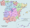 Spain railway network