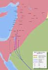 Muslim invasion of Levant April 634