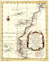 África Occidental en 1738