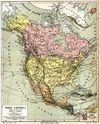 North America in 1888