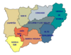 Comarcas of the Province of Jaén 2006
