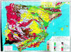 Geological map of Spain