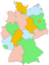 Germany outline map