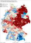 Germany's population changes 2006-2025