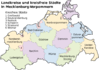 Mapa Mecklemburgo-Pomerania Occidental