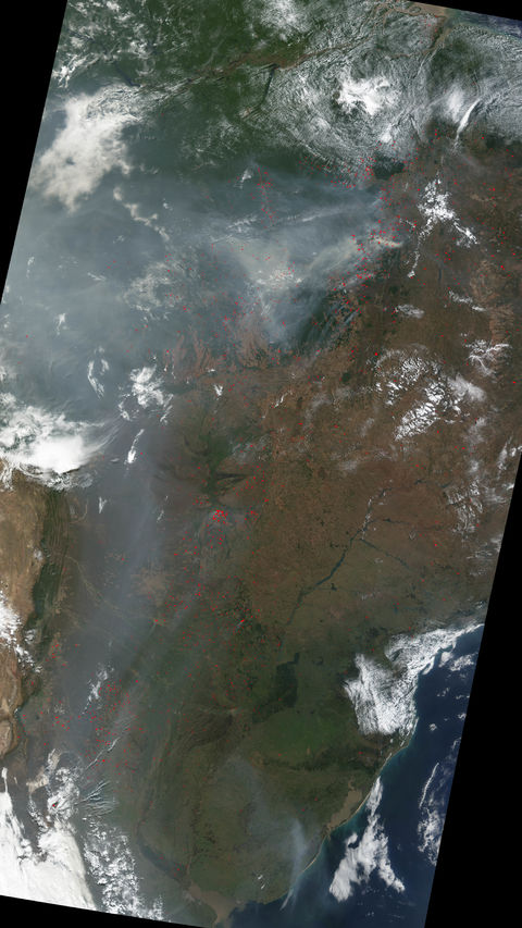 Deforestation In Brazil. Deforestation in Brazil