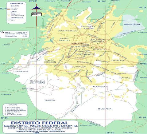 Mapa de la Ciudad de Leon Gto Mapa de la Ciudad de México df
