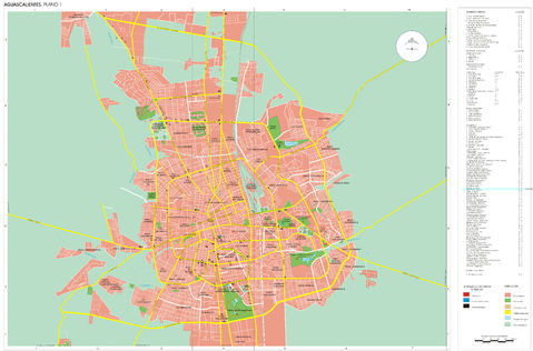 Aguascalientes City Map