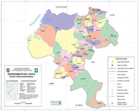 Departamento del Cauca 2003