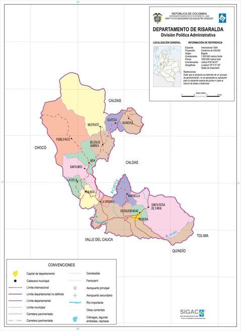 Departamento de Risaralda 2003