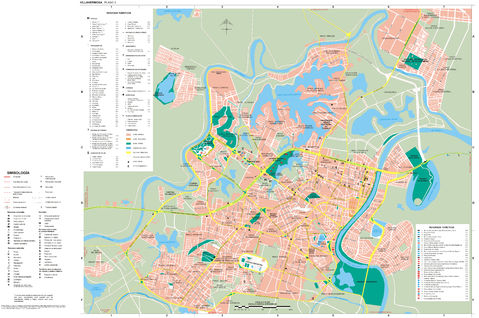 Map of Villahermosa